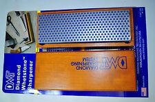 DMT W6C 6-Inch Diamond Whetstone Sharpener, Coarse with Hardwood Box Made in USA