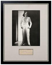 Paulette Goddard Authentic Autograph Signed Photograph Original Photo Goldwyn