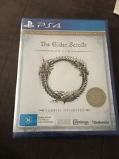 The Elder Scrolls Online Tamriel Unlimited Sony PlayStation 4 PS4 Game Brand New