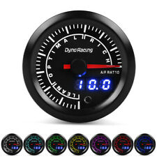 "2"" 52mm Digital & Pointer 7 Color LED Narrowband Car Air Fuel Ratio Gauge Meter"