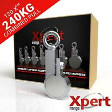 Online Magnets 120 X Recovery Fishing Clamp Magnet 240kg 529lb Pulling Force