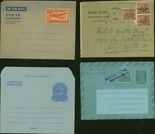 India - Aerogramme. Lot of 4  Air Letter to India..........(VG) MV-7971