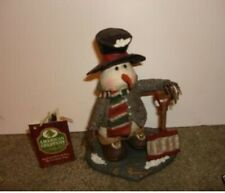 New ListingAmerican Chestnut Folk Art I Dig Snow Coney's & Company Am1317