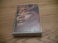 GRACE JONES INSIDE STORY 1986 Cassette Tape