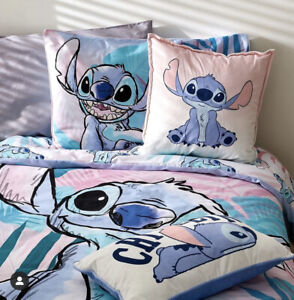 Disney Lilo & Stitch 100% Cotton Single / Double / King Duvet Cover or Throw