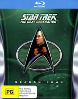 STAR TREK: THE NEXT GENERATION - SEASON FOUR/4 (6-Disc Region-Free Blu-ray Set)