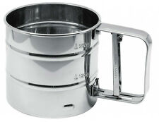 New Zenker Flour Icing Chocolate Spring Sieve Sifter Stainless Steel 42973