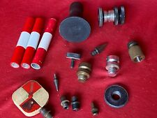 Lot of Hardware for Surveying Equipment Tri-pod Prism Poles Thread Protectors