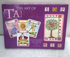The Art Of Tarot by Liz Dean Emma Garner Paperback Book & Cards in Box