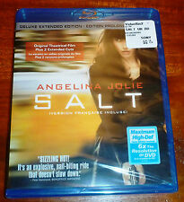 Salt (Blu-ray Disc, 2010, Canadian Unrated; Deluxe Extended Edition) Region Free