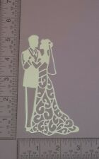 16 Bride & Groom - Die Cuts - Card Toppers - Embellishments - Wedding - Tall