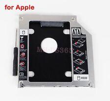 SATA 2nd HD SSD Hard Drive Caddy Apple Unibody MacBook Pro 2011 2012 Optical Bay