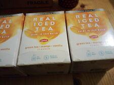 Lipton Cold Brew Green Tea Mango  Vanilla(Pack of 15) 67737992 x 3