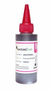 100ml Universal Premium Magenta refill ink bottle for CISS refillable cartridge