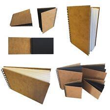 eco-arts sketchbook professional hardback wirobound white cartridge paper sketch