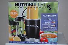 NEW IN BOX NutriBullet Rx 1700-Watt Blender Mixer SHIPS TO PR, HI, APO