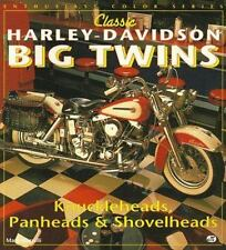 Enthusiast Color: Classic Harley-Davidson Big Twins by Mark Marselli (1994,...