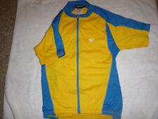 Cycling jersey, Pearl Izumi Women's small, short sleeve, yellow & blue