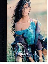 Publicité Advertising 117  1987  Olivier Strelli  haute couture