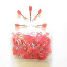 144 RED PLASTIC DARTS WITH METAL TIP CARNIVAL POP A BALLOON GAME BIRTHDAY PARTY