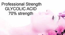 Wholesale GLYCOLIC ACID Bulk 70% Professional Strength Acne Wrinkles resurfacing