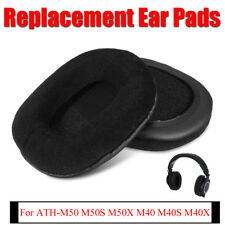 Velour Earpads Cushion Fr Audio Technica ATH-M50 M50S M50X M40 M40S M40X Headset