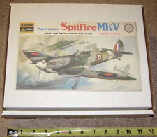VINTAGE MIB Fujimi 1/48 SPITFIRE Mk. V British WW2 Fighter MOTORIZED PROPELLER