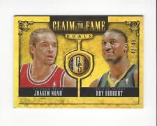 2013-14 Panini Gold Standard Claim to Fame Duals #30 Joakim Noah/Roy Hibbert /49