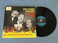 THE THREE STOOGES SING FOR KIDS 1971 AUSTRALIAN RELEASE LP