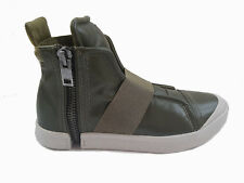 $350 Authentic Rare DIESEL Men's S-Nentish Army Green Strap Fashion Sneakers