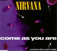Nirvana Maxi CD Come As You Are - Europe (EX/EX+)