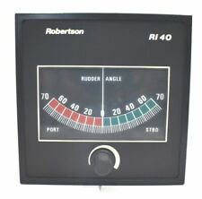 Simrad RI40 Robertson Rudder Angle Indicator marine ship`s navigation instrument