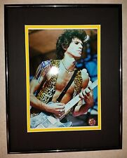 Keith Richards 8x10 Signed Autographed Framed Rolling Stones GFA COA