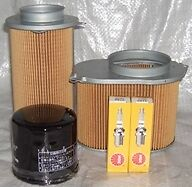 Plugs Oil Filter & Air Filters  SUZUKI VS VS800 Intruder S50 & Boulevard 1992-09