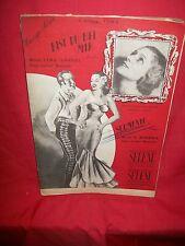 MESSINA Sgomento + FIMA/LOSCHI Bist du bei mir 1930s Spartiti Tango