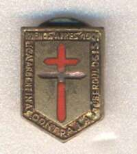 """Argentina Pin Against Tuberculosis 1901 Enameled 3/4"""" Aprox"""