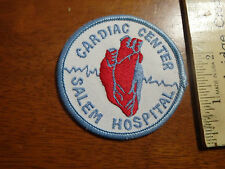 SALEM MASSACHUSETTS SALEM HOSPITAL CARDIAC CENTER HEART CARE PATCH  BX 10 #1