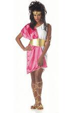 Greek Goddess Toga Woman Adult Costume Pink