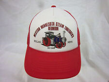 trucker hat baseball cap W MN STEAM THRESHERS REUNION  retro snapback cool mesh