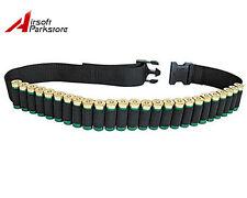Tactical Hunting 25 Rounds Shotgun Shell Belt 12GA Gauge Ammo Holder Bandolier A