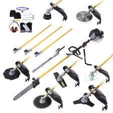 9 in 1 Pole Chainsaw Brush Cutter Whipper Snipper Hedge Trimmer Saw 65cc