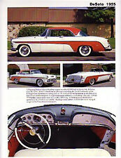 1955 DeSoto Article - Must See !! Fireflite 291-cid + Sportsman Convertible