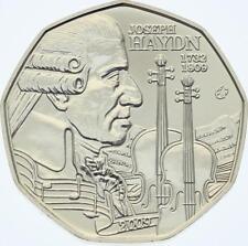 O4288 Austria 5 Euro Joseph Haydn 2009 Silver BE PROOF ->Make offer