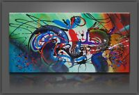 Oil Painting Canvas Wall Art Picture Modern Large Home Decoration Abstract