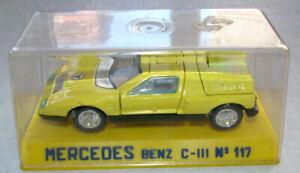 Joal Miniaturas 1/43 Mercedes C-111 Yellow Dinky Copy VN Mint w Box Spain C111