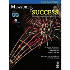 Fjh Music Measures of Success Bass Clarinet Book 1