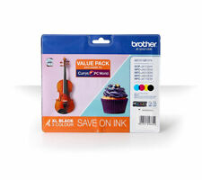 BROTHER LC127XL Black & Tri-Colour Ink Cartridge - Multipack - Currys