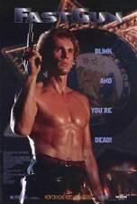 FAST GUN Movie POSTER 27x40 Lito Aguas Brenda Bakke James Brewer Tony Cooper Mel