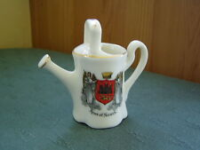 ARMS OF NORWICH CREST - WATERING CAN - WILLOW ART CRESTED CHINA