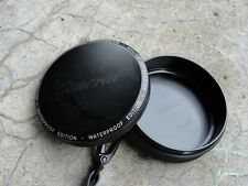 General Snus Waterproof Edition Black Aluminum Floating Snus Snuff Can & strap
